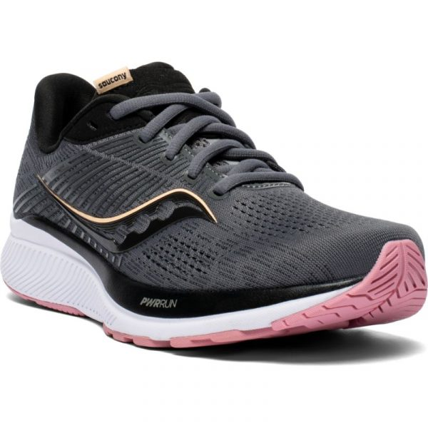 Saucony Guide 14 W -juoksukengät naisille, Charcoal Rose