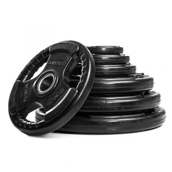Gymstick Rubber Weight Plate -levypainot